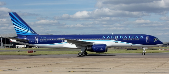 Boeing 757-200 авиакомпании Azal