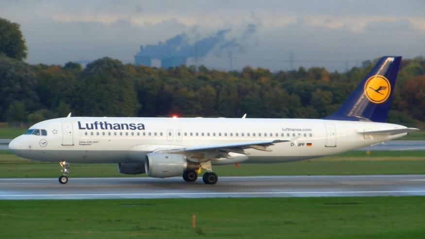 Самолет Airbus A320-200 Lufthansa