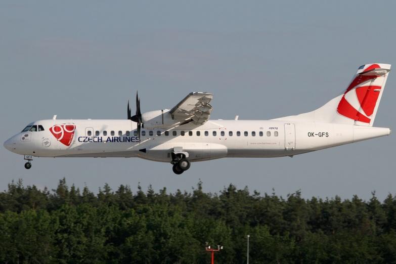 ATR 72 Чешские авиалинии