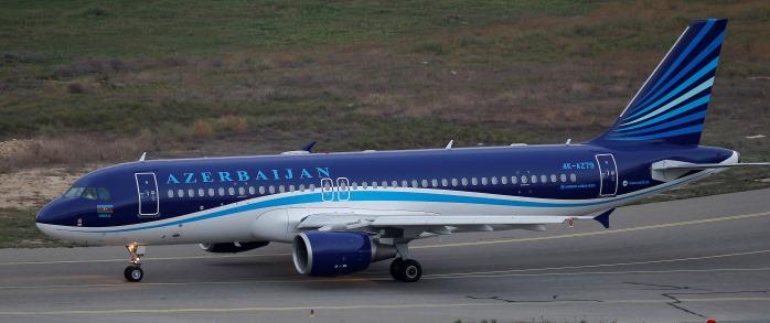 Airbus A319 авиакомпании Azal