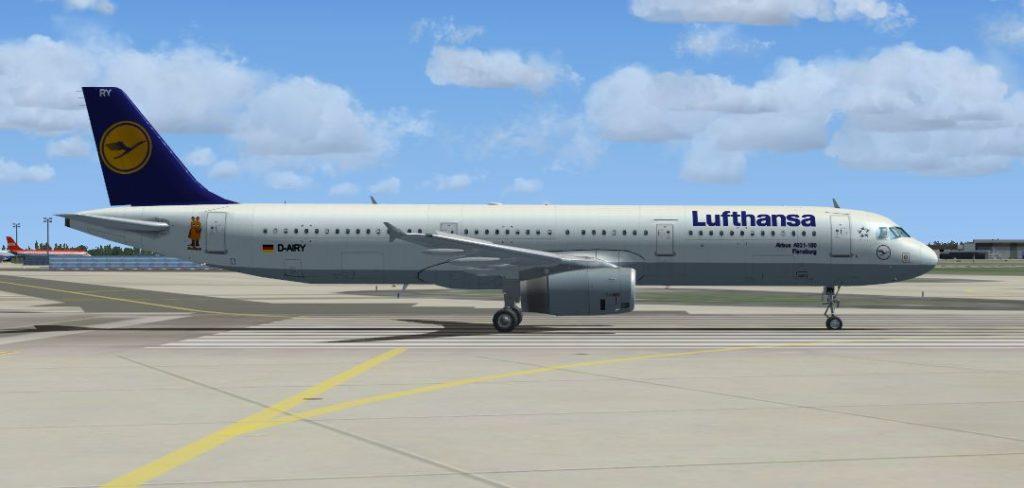 Самолет Airbus A321-100 Lufthansa