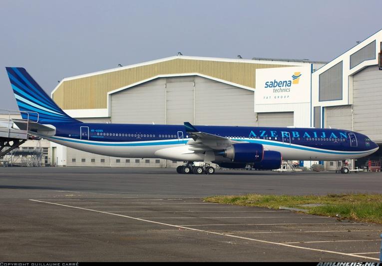 Airbus A340-500 авиакомпании Azal