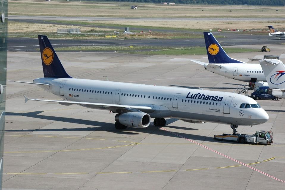Самолет Airbus A321-200 Lufthansa