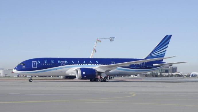 Boeing 787-8 Dreamliner авиакомпании Azal