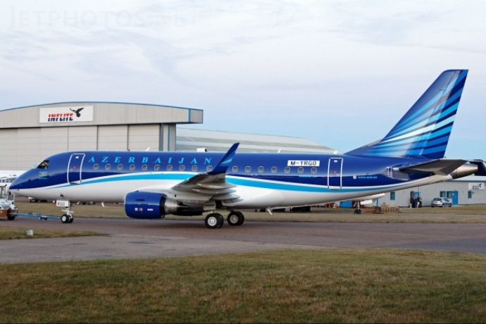 Embraer ERJ 170-100LR авиакомпании Azal