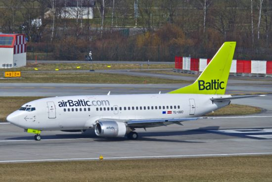 Air Baltic Boeing 737-500