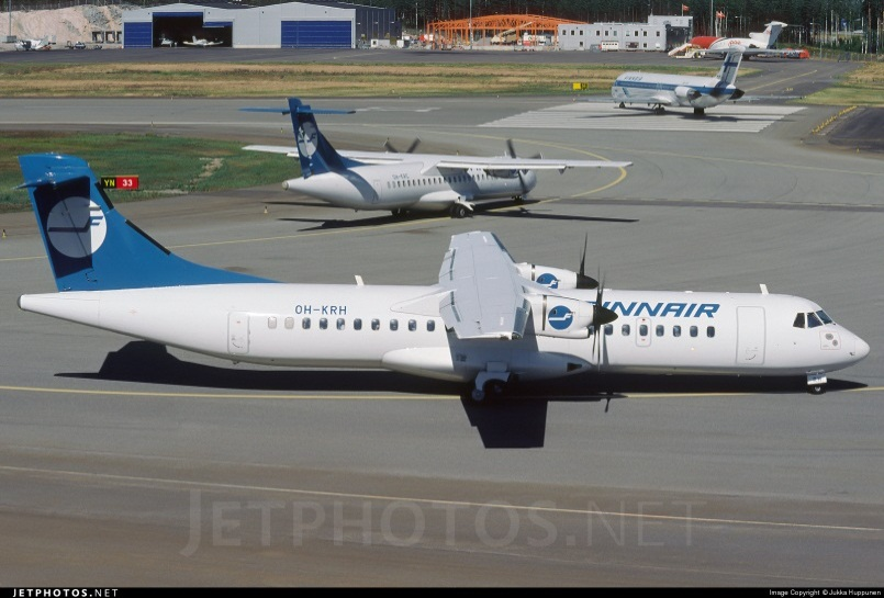 ATR 72-212A авиакомпании Finnair