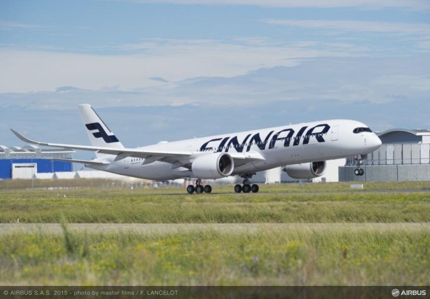 Airbus A350-900 самолет Finnair
