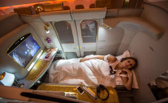 Первый класс на авиалиниях Emirates