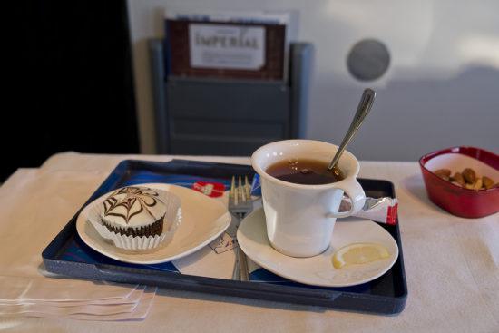 Десерт на борту лайнера