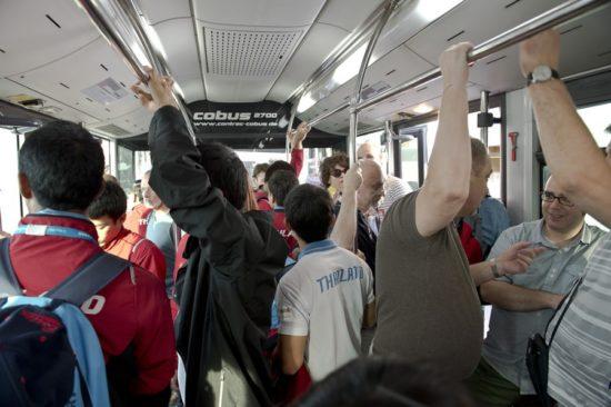 Общий автобус для пассажиров бизнес-класса