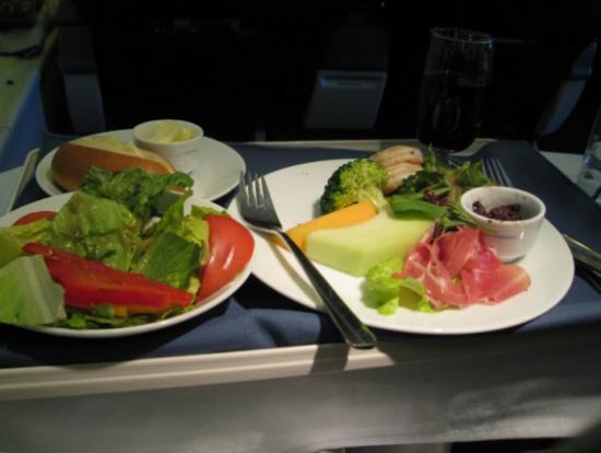 Delta Airlines: бизнес-питание