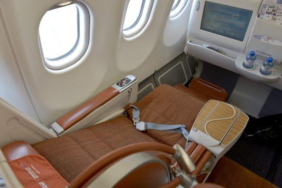 Спальное место на борту самолета