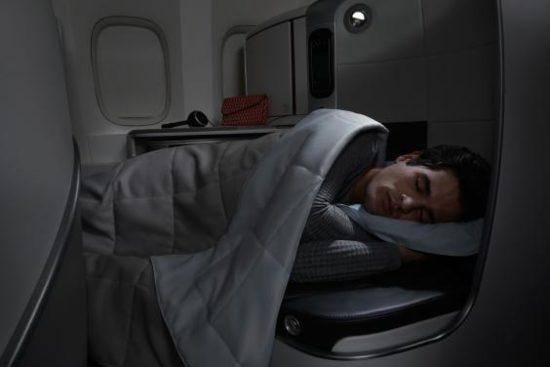 Air France: кабинка для отдыха