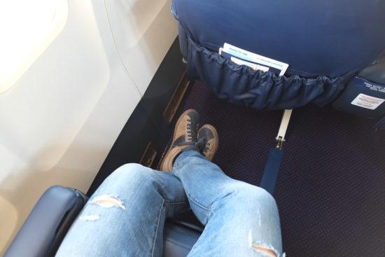 Трансаэро: пространство для ног