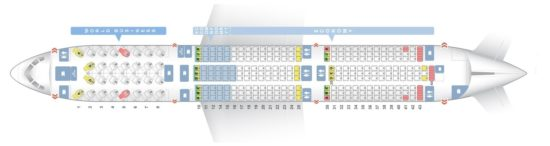 Схема салона на KML