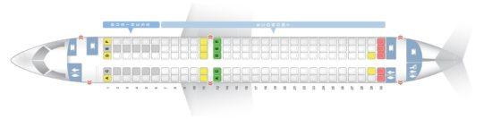 Схема салона Bombardier