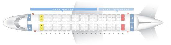 Схема салона на British Airwaus