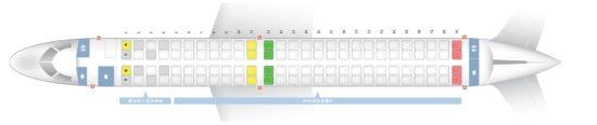 Схема салона на рейсах Lufthansa