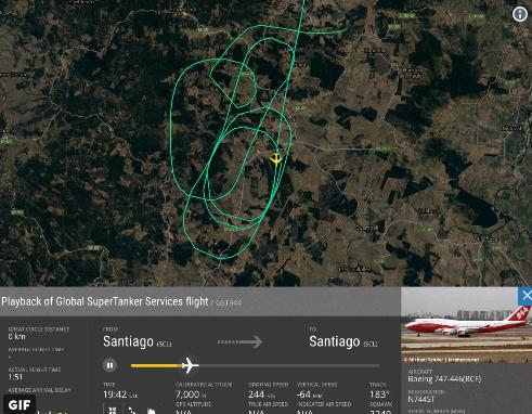 Пример маршрута Boeing