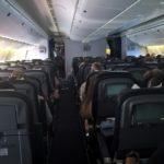 Пассажирский салон самолета Россия