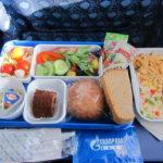 Питание на борту Газпром Авиа