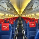 Салон самолета Azur Air Ukraine