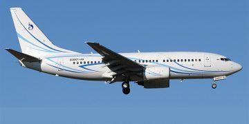 Самолет Газпромавиа
