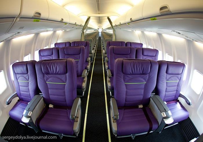 Фото салона бизнес класс S7 Boeing 737-800