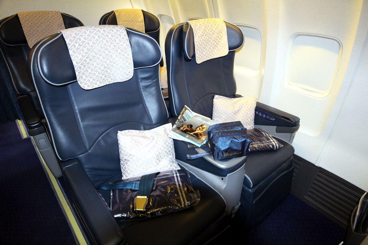Комфортные кресла бизнес-класса «Якутии»