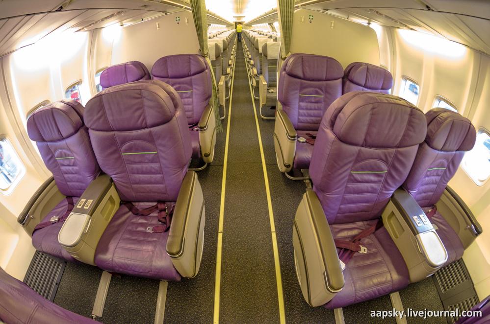 Airbus A320 бизнес класс
