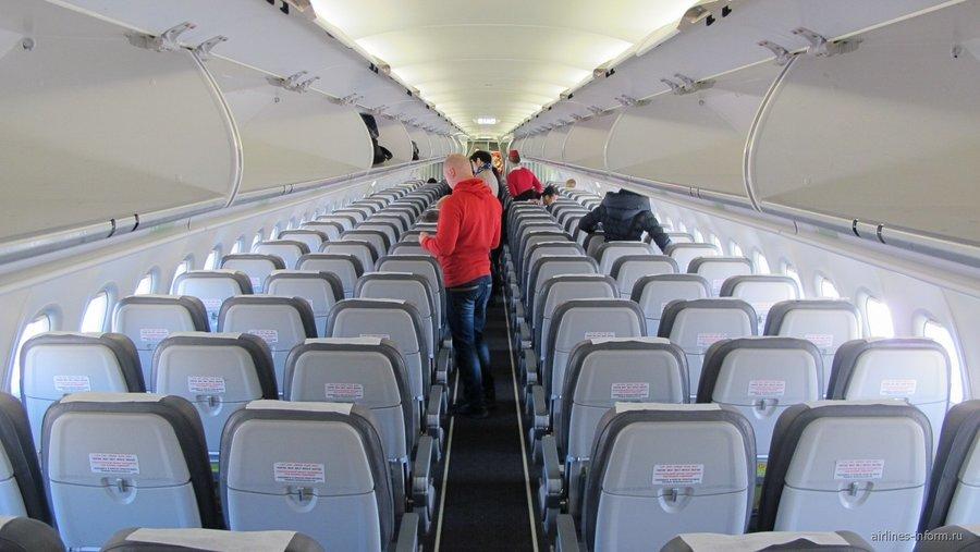 Фото эконом-класса Airbus A320