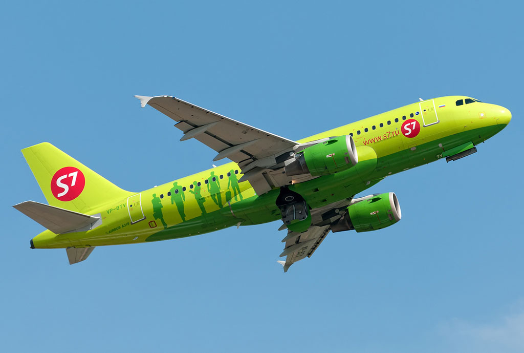Airbus A320-100, -200 S7 Airlines