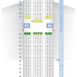 Схема салона Boeing 777-300ER Emirates на два класса