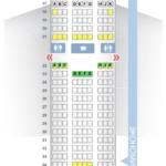 Схема салона Боинг 777-300ER Emirates