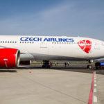 Самолет авиакомпании Чешские авиалинии