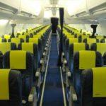 Салон самолета Аirbaltic