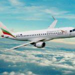 Самолет авиакомпании Болгарские авиалинии