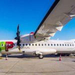 ATR 72 на взлетной полосе