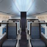 Бизнес-сектор на рейсе Флайдубай
