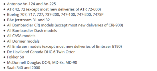 Неотслеживаемые модели на Флайтрадар24